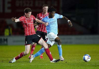 Roméo Lavia obtient déjà l'opportunité de s'entraîner avec l'équipe A de Manchester City !