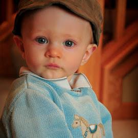 A perfect peace. by Michael Haagen - Babies & Children Child Portraits ( soul, peace, window, eyes, levi,  )