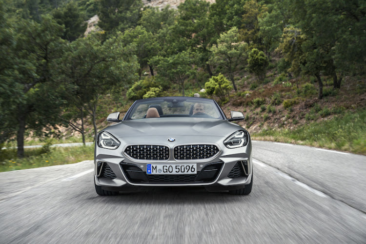 Ultra-wide kidney grilles are a defining feature of the new Z4