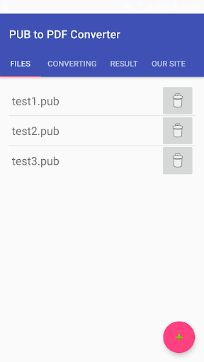 PUB to PDF Converter screenshots 1