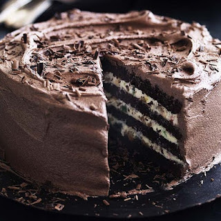 Chocolate And Ricotta Cake.