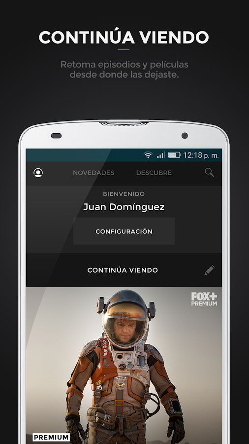 FOX: captura de pantalla