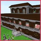Redstone Woodland Mansion. Map for Minecraft icon