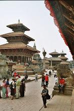 Photo: Tempel und Touristen