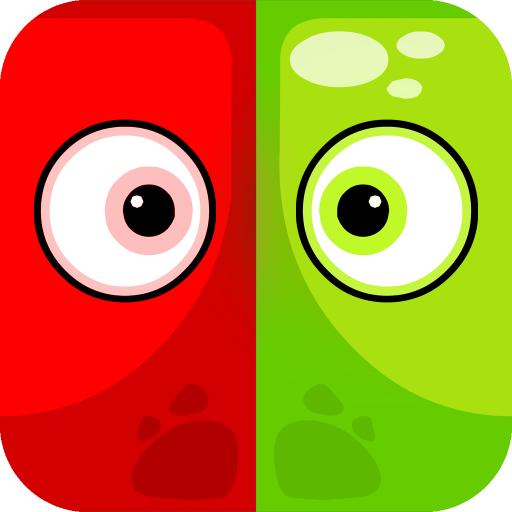 解谜のスクエアとラウンド LOGO-記事Game