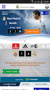 Real Madrid App v4.0.02