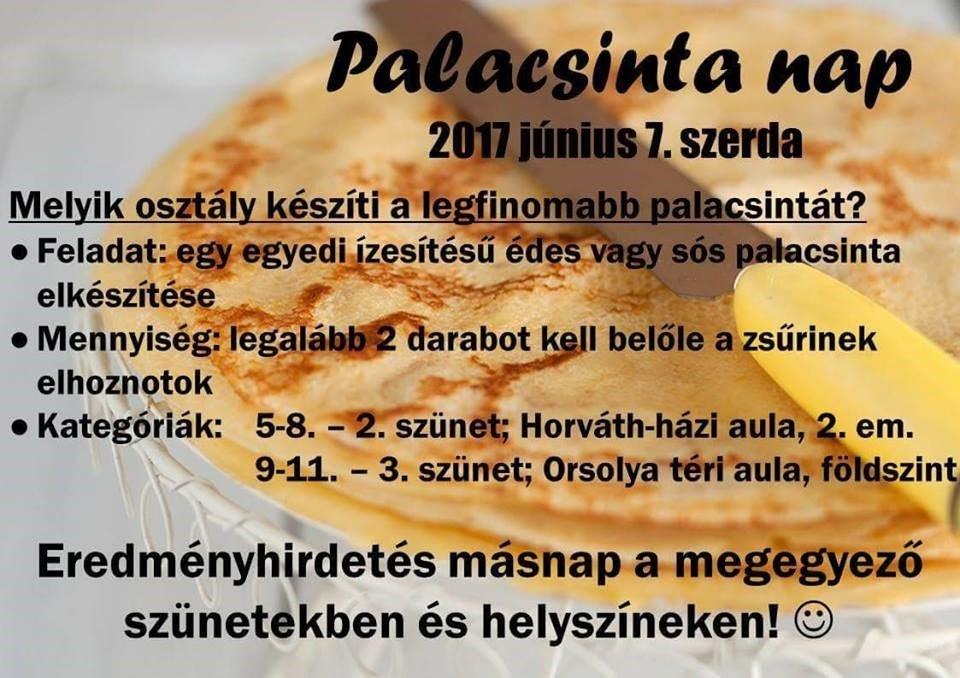 palacsintanap plakát