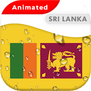 Sri Lanka Flag Animated Live Wallpaper