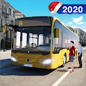 Modern City Bus Driving Game 2020 🚌 icon