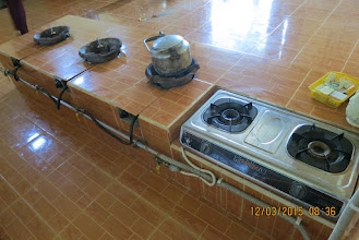 Photo: New kitchen and stoves