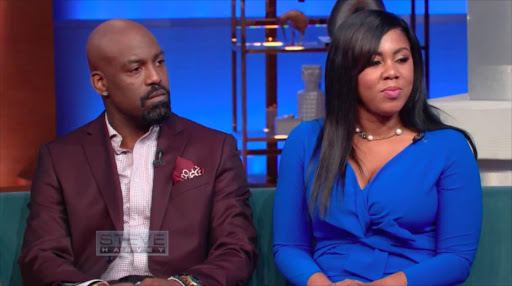 Kyle and Marrika Norman on The Steve Harvey Show.