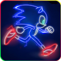 Awesome Hedgehog Wallpaper icon