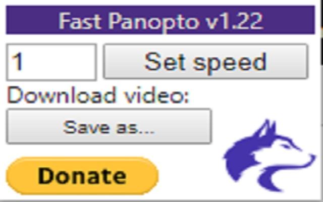 Fast Panopto