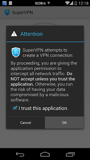 SuperVPN Free VPN Client 2.6.6 screenshots 2