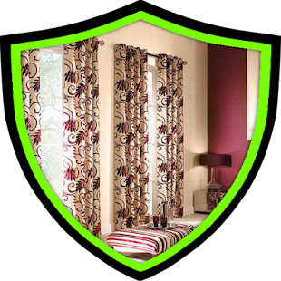 Curtain design Obývací pokoj - náhled