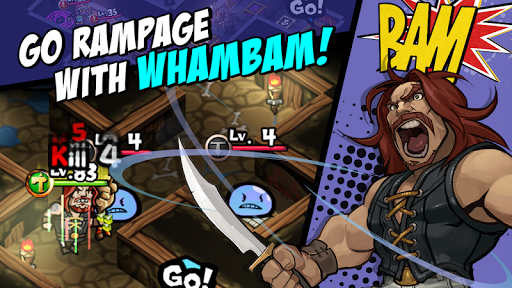 WhamBam Warriors VIP - Puzzle RPG 1.1.215 screenshots 17