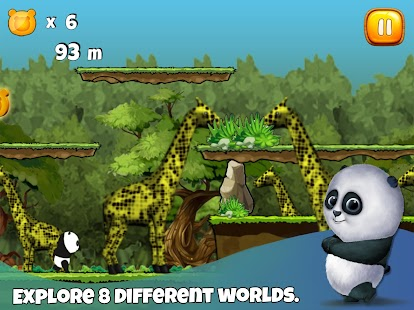 Sleepy Panda: Escape screenshot
