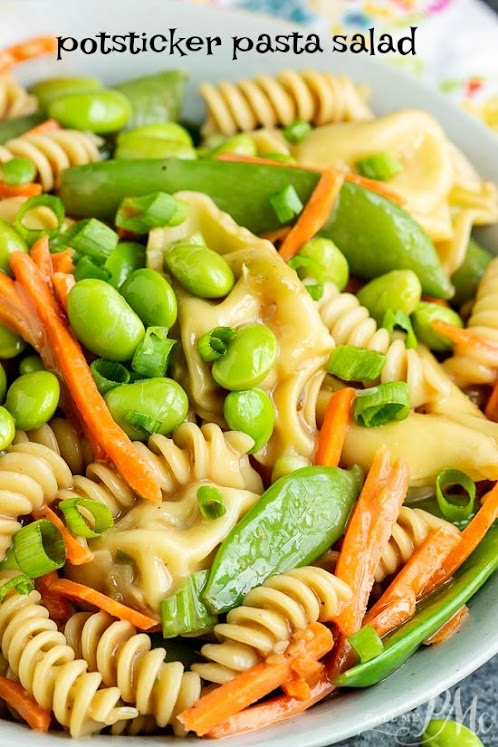 Potsticker Pasta Salad