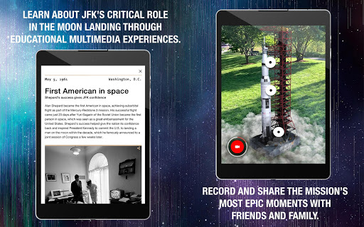 JFK Moonshot: An AR Experience of Apollo 11 mission screenshot 9