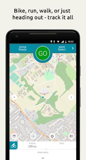 Map My Tracks Cycling Run Walk 4.1.7 app download 1