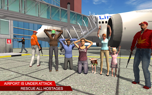 Plane Hijack Game :  Rescue Mission modavailable screenshots 2