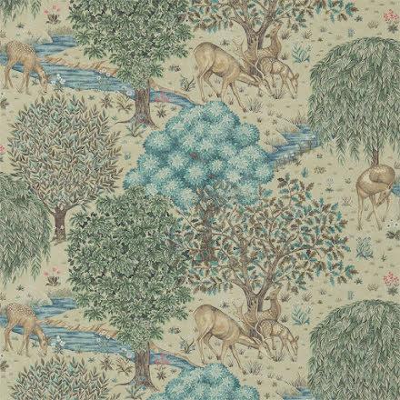The Brook Tapet - linen