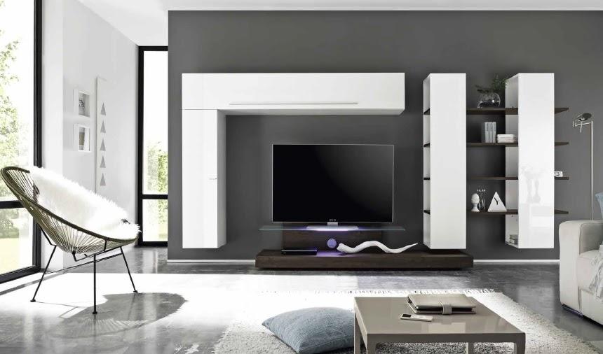 ... Bali, mobile soggiorno bianco,wengè,rovere, base tv di design  eBay