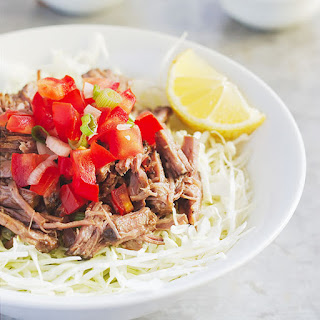 Barbacoa with Cabbage Slaw