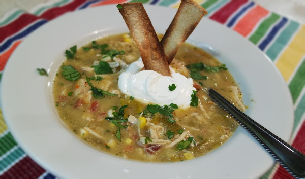 Chicken Tomatillo Soup Recipe