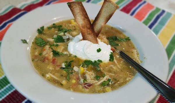 Chicken Tomatillo Soup Recipe