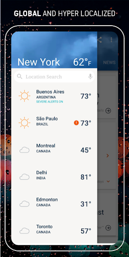 AccuWeather: Weather forecast & live radar maps 6.1.10-free screenshots 5