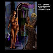 "Photo: Jean - ""Inanna, at the 7th Gate"" - Sumerian goddess of love"