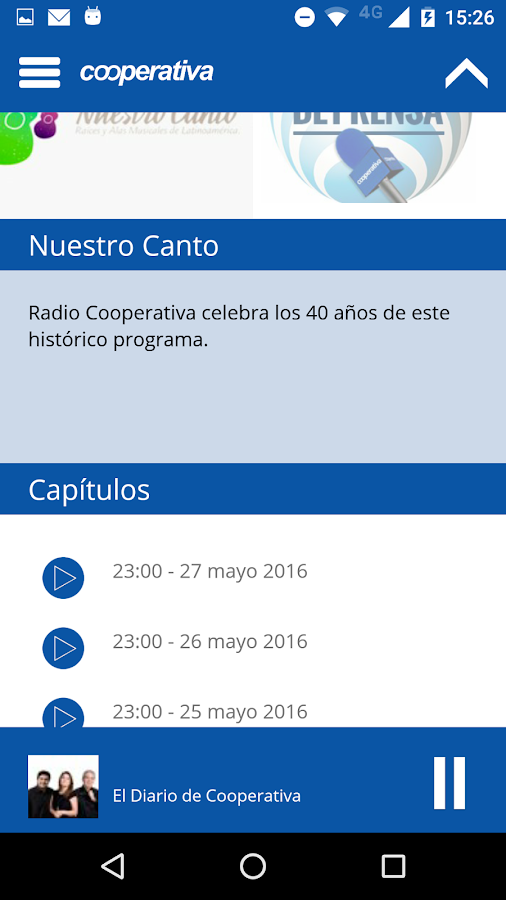 Radio Cooperativa a La Carta - Android Apps on Google Play