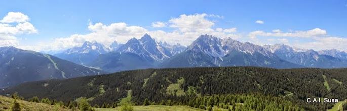 Photo: Panorama verso le Dolomiti di Sesto