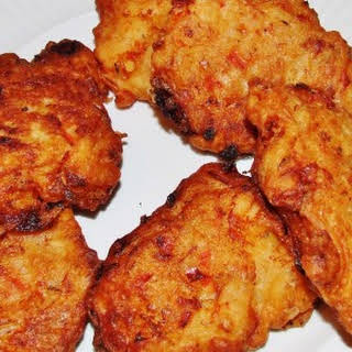Jamaican Saltfish Fritters.