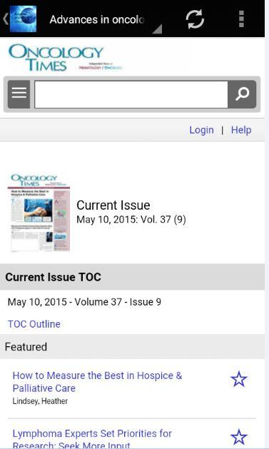 Asian Journal Of Oncology- screenshot