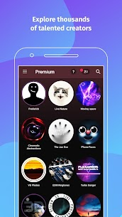 ZEDGE Pro Wallpapers Ringtones Mod APK (Purchased) 6.8.20 6