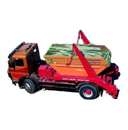 Containernät 4m x 7m, fyrkantmaska 80mm