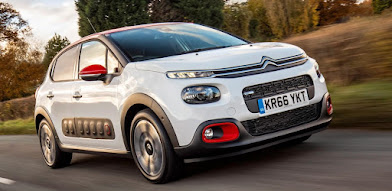 Stand-out in a Citroen C3