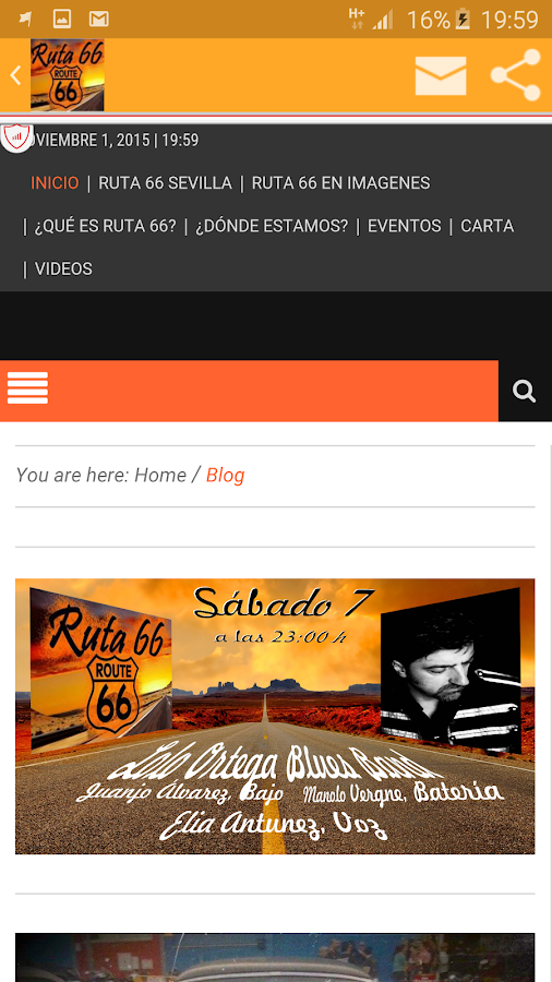 Ruta66 Sevilla- screenshot