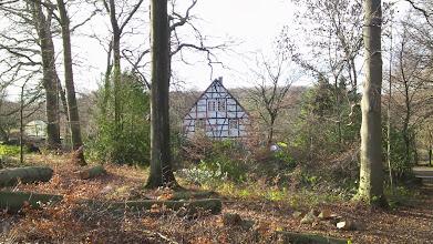 Photo: Im Viersen am Rauten-Weg (Seitenzweig des Wolfskuhler Wegs mit Hausnummer 64).