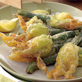 Fried, Stuffed Squash Blossoms