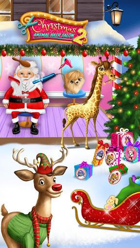 Christmas Animal Hair Salon 2 apkpoly screenshots 2