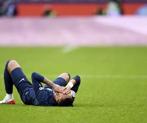 Des nouvelles de Neymar, sorti sur blessure