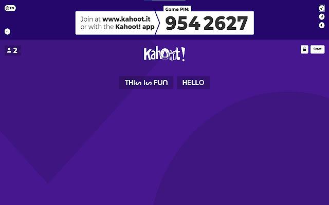 Kahoot name bypass