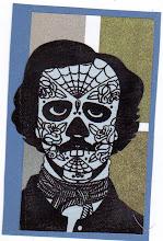 Photo: Wenchkin's Mail Art 366 - Day 164, card 164a
