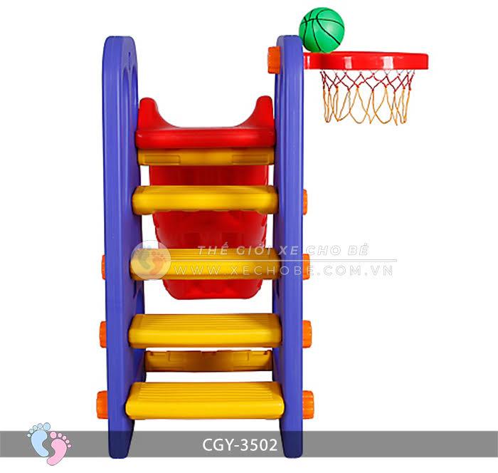 Cầu trượt bóng rổ cho bé YGC-3502 6
