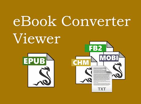 eBook Viewer and Converter