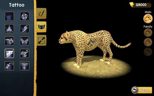 Wild Cheetah Sim 3D apkpoly screenshots 11