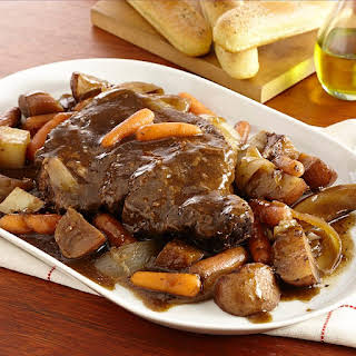Slow Cookers Red Wine Pot Roast.
